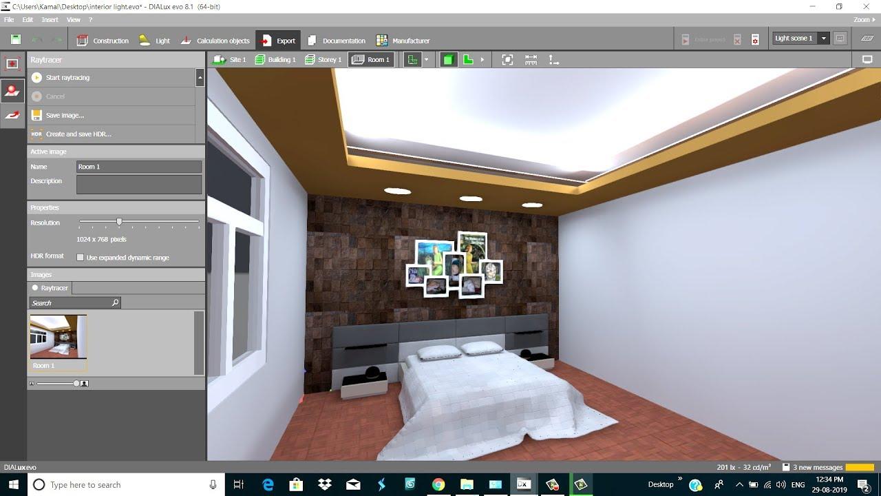 Dialux Evo 8 1 Interior Lighting Tutorial Part 2 Gemini Architectural Youtube