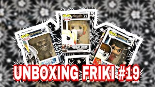 UNBOXING FRIKI #19: FUNKO POP SAURON(122), HARRY POTTER QUIDDITCH(08) Y HARLEY QUINN VIDEOJUEGO(72).