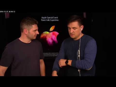 LIVE Apple Event 27 oct