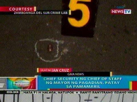 BP: Chief Security ni Pagadian City Mayor Samuel Co, patay sa pamamaril