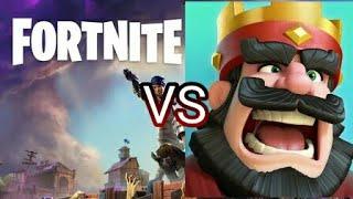 Fortnite Rap VS Clash Royale Rap !