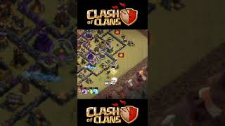 😀Townhall 10 Strong war base attack #Shortvideo