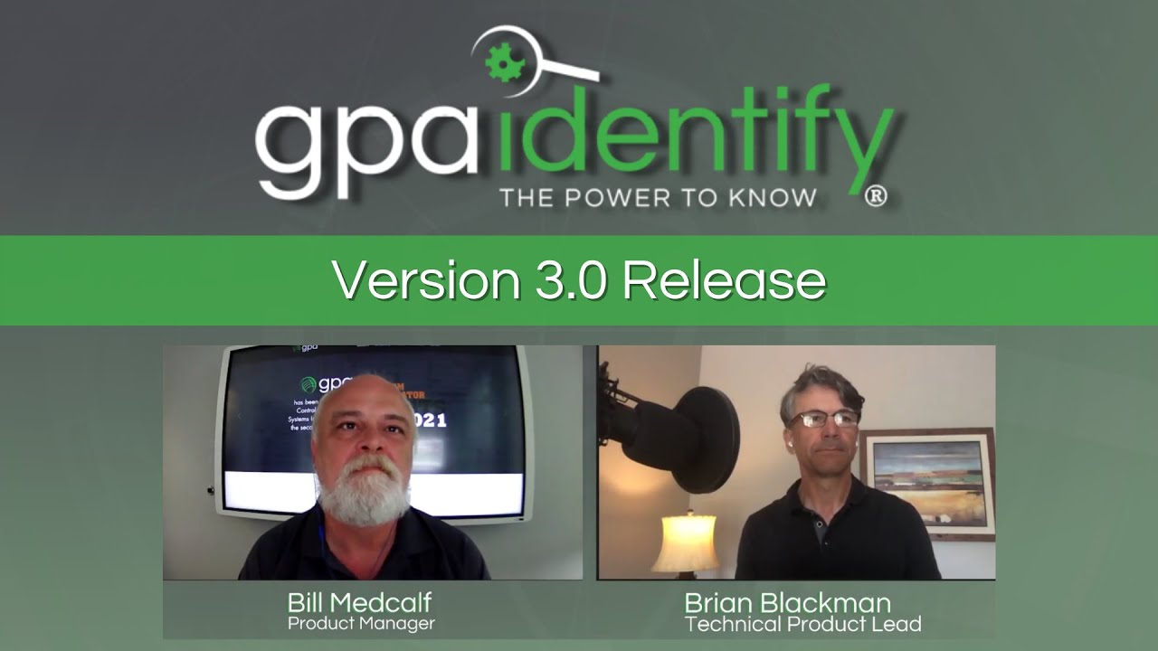GPAidentify Version 3.0 Release Replay