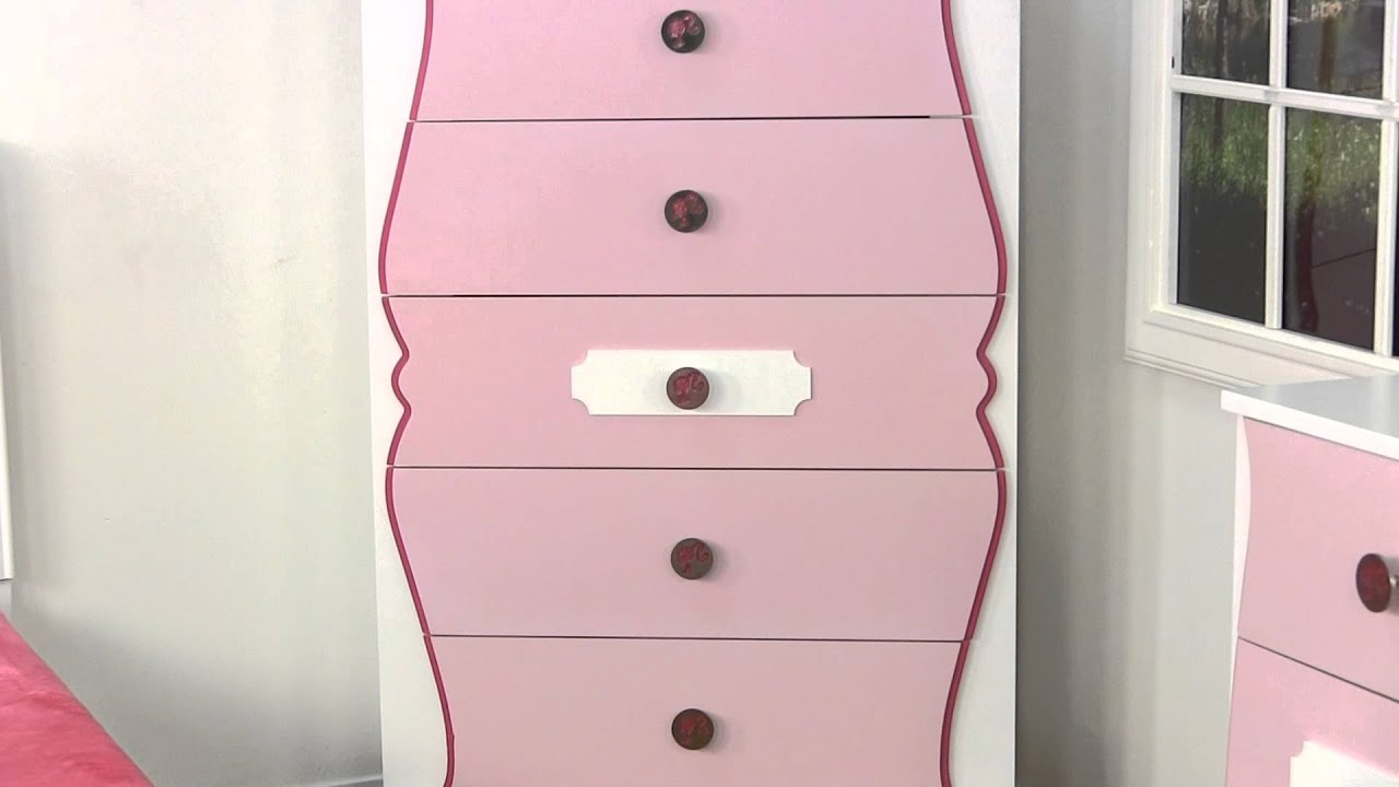 DREAM FURNITURE - BARBIE BEDROOM FURNITURE - YouTube