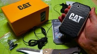 CAT B15: rugged Android smartphone unboxing | Pocketnow