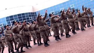 Зажигательное поздравление Жас-улановцев с 8 марта! (shuffle dance)