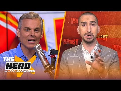 Nick Wright challenges Colin over Colts vs Chiefs, talks recent head coach hires | NFL | THE HERD