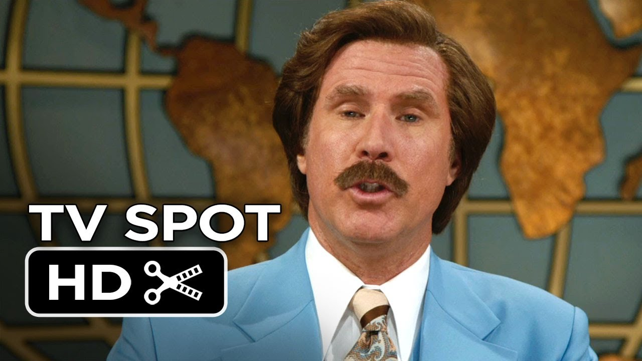 Download Anchorman 2: The Legend Continues TV SPOT - Serious (2013) HD