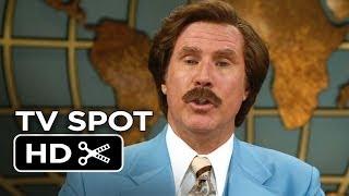 Anchorman 2: The Legend Continues TV SPOT - Serious (2013) HD