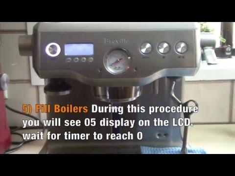 Descaling The Boiler Breville Bes920 Dual Boiler Coffee
