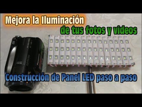 Mejora la Iluminacion de tus Fotos y Videos - Construccion de Panel LED paso a paso