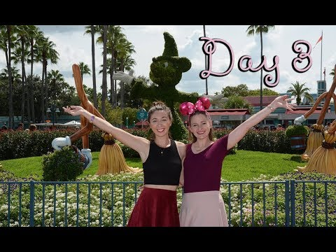 """Day 3 - """"50's Prime Time Hilarity"""" - Animal Kingdom, EPCOT and Hollywood Studios"""
