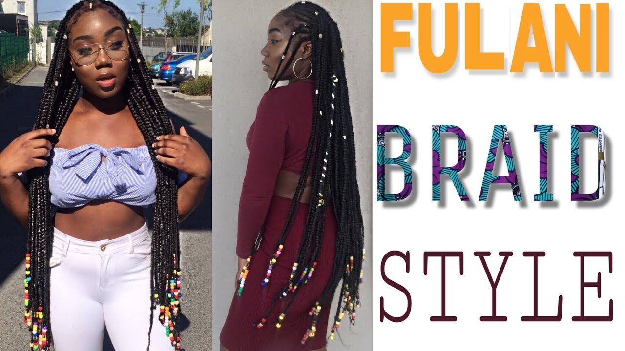 Straight Back With Beads: FULANI BRAIDS TUTO : TU VEUX ÊTRE ONFLEEK NON ???