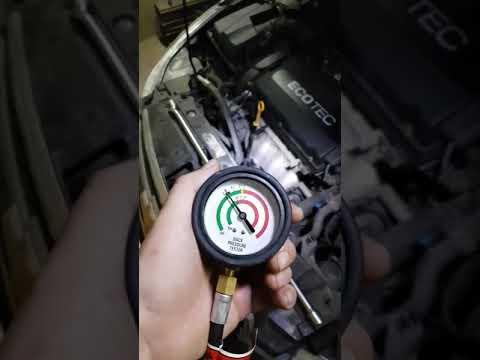 Chevrolet Cruze 1.8 2010: проверка катализатора