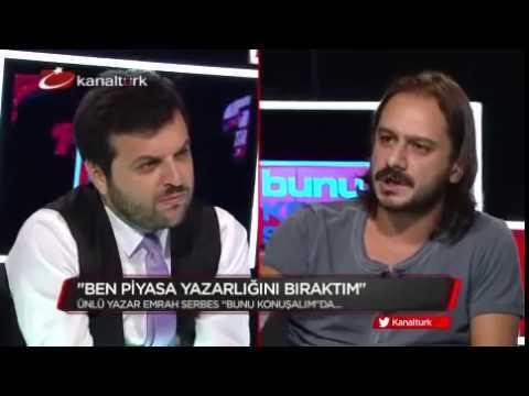 Emrah Serbes Elif Şafak ve Orhan Pamuk