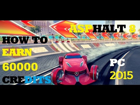 asphalt 8 airborne how to earn 60000 credits gameplay pc youtube. Black Bedroom Furniture Sets. Home Design Ideas
