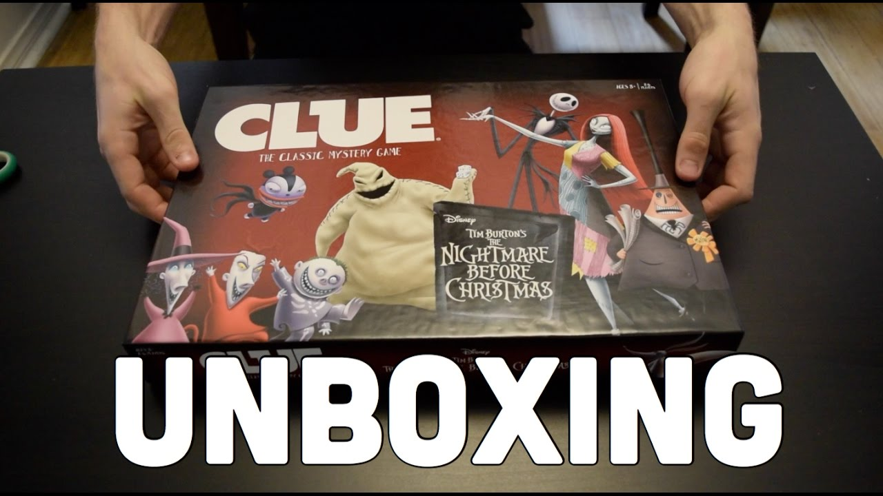 What\'s Inside: The Nightmare Before Christmas Clue - YouTube