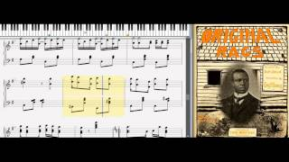 Original Rags by Scott Joplin (1899, Classic Ragtime Piano)