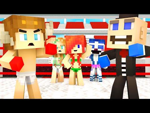 Minecraft School-FNAF Sister Location - FIGHT OVER GIRLS?!