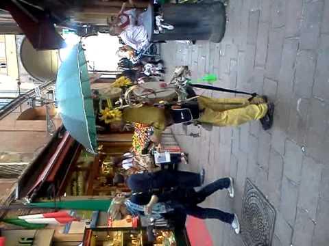 Suonatore Di Strada A Bologna