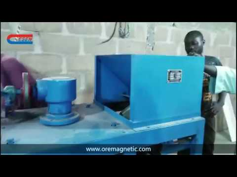 Tin ore processing plant by DESEN MINING MACHINERY