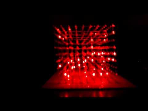 9x9x9 LED Cube Music Visualizer HD