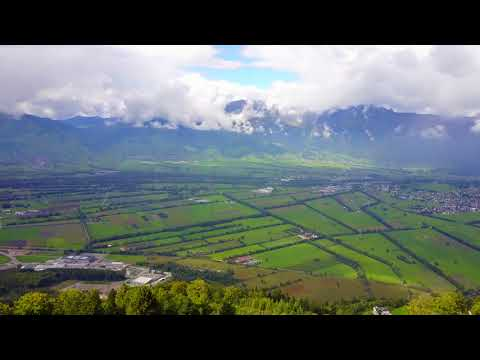 Liechtenstein Hills - Alps - Drone 4K