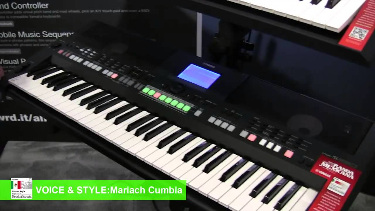 Yamaha Debuts Mariachi and Norteño Keyboard Expansion Pack