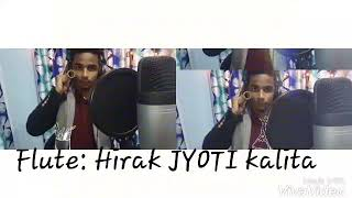 DIN JOLE RATI JOLE FLUTE COVER BY HIRAK JYOTI || ZUBEEN GARG SONG || MISSON CHINA