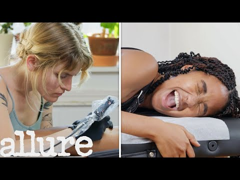 Getting My First Tattoo In 8 Steps | I've Never Tried | Allure