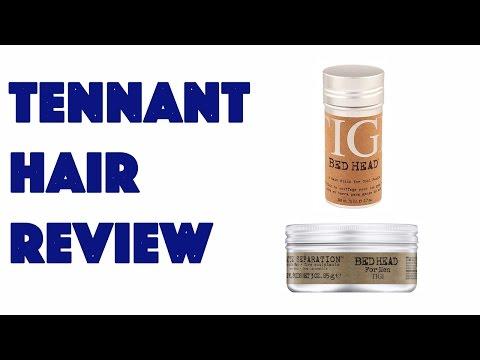 Tennant Hair Review: Tigi Bedhead Hair Stick & Matte Separation Wax