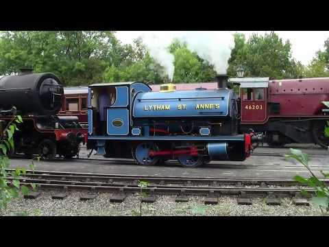 Stanier Pacifics at Butterley 10th September 2017