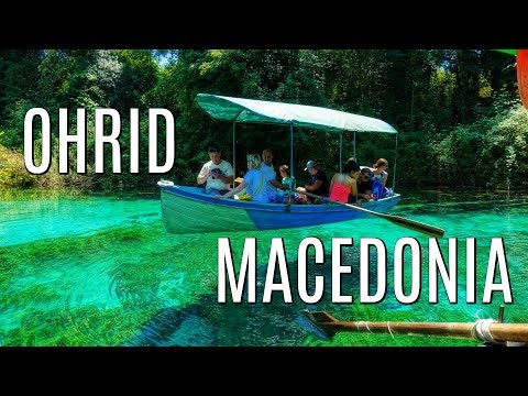 S4 E8:  People are looking at US like we're FAMOUS! Ohrid, Macedonia Travel Guide