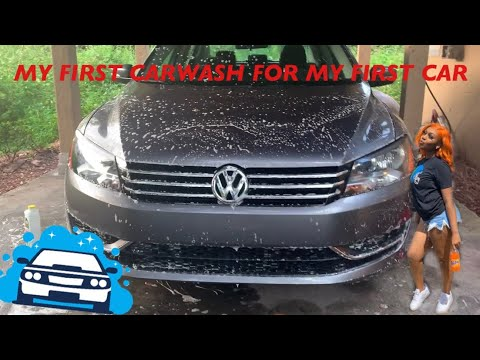 VLOG: My First carwash for my FIRST CAR