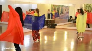 Уроки танца живота в школе танцев ZebraStep
