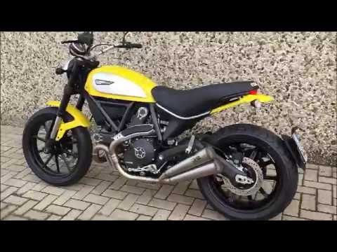 ducati scrambler sc project exhaust sound youtube. Black Bedroom Furniture Sets. Home Design Ideas