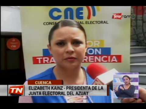 CNE realizó simulacro de elecciones