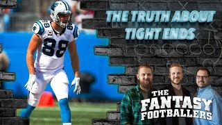 Fantasy Football 2017 - The TRUTH About Fantasy TE's in 2016 - Ep. #347