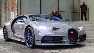1 of 1 Nardo Grey Bugatti Chiron - Start Ups & Driving