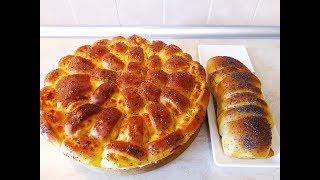 Красивый пышный НЕВЕРОЯТНО вкусный пирог с творогом и сыром Выпечка рецепты