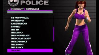 Saints Row 3 HD First Impressions- Char Creation Female (Part 2 of 2)