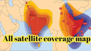 Satellite your map  satellite coverage map all satellite coverage map SJ DTH