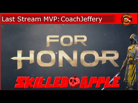 Another Super Long FOR HONOR Stream! | Peacekeeper PS4 | Road to Reputation 30