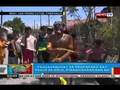 BP: Pagsasabuhay sa pagpapako kay Hesus sa krus sa San Fernando City, Pampanga, pinaghahandaan na