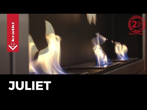 Биокамин Kratki Juliet 1800 нержавеющая сталь (с сертификатом TUV)
