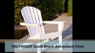 Polywood Adirondack Chairs By Premium Poly Patios