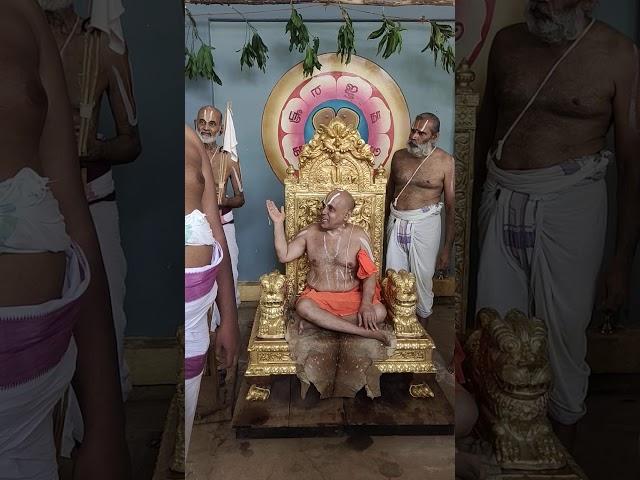 Aandavan chathurmasya sankalpam. Divyadesa mariyadhai