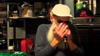 1-7-2015 Steve Harvell playing a Low (F) Harmonica