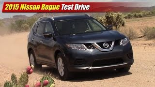 2015 Nissan Rogue Test Drive