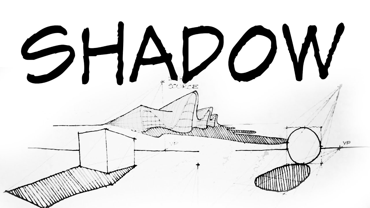 How To Draw Perspective Shadow Part 1 Architecture Daily